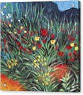 Wildflower Garden 2 Acrylic Print