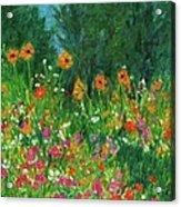 Wildflower Rush Acrylic Print