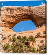 Wildon Arch In Utah Acrylic Print