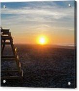 Wildwood New Jersey - Peaceful Morning Acrylic Print