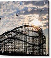 Wildwood Roller Coaster Acrylic Print