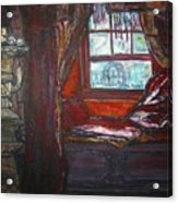 Wilhelmina's Windowseat Acrylic Print