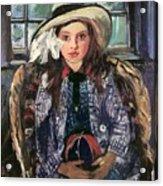 Wilhelmine With Ball 1915 Acrylic Print