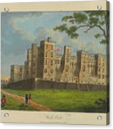 Wilkinson, Robert  58 Cornhill Windsor Castle Published 7 Aug 1813 Acrylic Print
