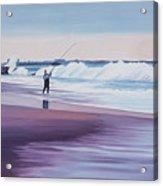 Will Rogers Beach Acrylic Print