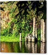 Willamette River Reflections 3783 Acrylic Print