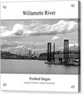 Willamette River Acrylic Print