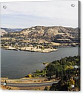 Willamette Valley Panorama Acrylic Print