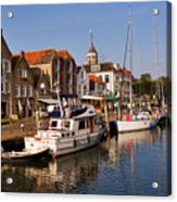 Willemstad Acrylic Print by Louise Heusinkveld