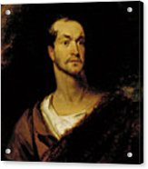 William Charles Macready As William Tell Acrylic Print