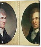 William Clark 1770-1838 And Meriwether Acrylic Print