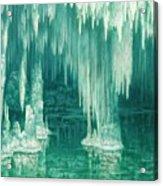 William Degouve De Nuncques 1867 - 1935 Belgian La Grotte Du Drac, Manacor Acrylic Print