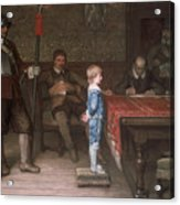 William Frederick Yeames - And When Did You Last See Your Father 1878 Acrylic Print