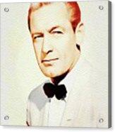 William Holden, Vintage Movie Star Acrylic Print