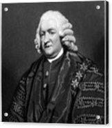 William Pitcairn (1711-1791) Acrylic Print