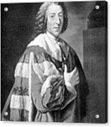 William Pitt, Prime Minister Of Britain Acrylic Print