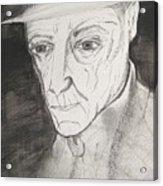 William S. Burroughs Acrylic Print