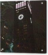William Seward And Met Life Tower Acrylic Print