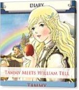 William Tell Cover Art Acrylic Print