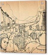 William Tell Offers Freedom Acrylic Print