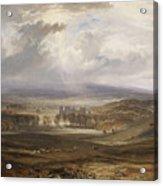 William Turner ,the Burning Acrylic Print