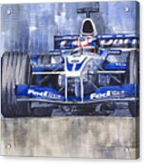 Williams Bmw Fw24 2002 Juan Pablo Montoya Acrylic Print