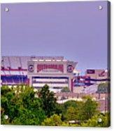 Williams - Bryce Stadium Acrylic Print