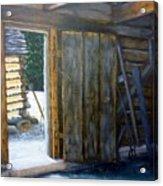 Williamsburg Barn Acrylic Print