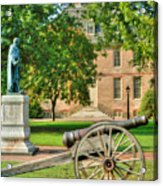 Williamsburg Cannon Acrylic Print