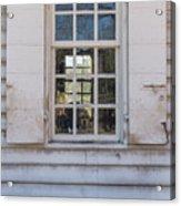 Williamsburg Window 86 Acrylic Print