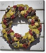 Williamsburg Wreath 29 Acrylic Print