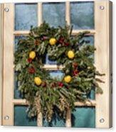 Williamsburg Wreath 37 Acrylic Print