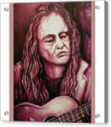 Willie The Print Acrylic Print