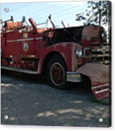 Willig Collection 6 Fire Truck Acrylic Print