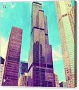 Willis Tower - Chicago Acrylic Print