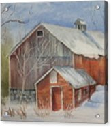 Williston Barn Acrylic Print