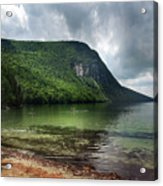 Willoughby Lake In Westmore Vermont Acrylic Print