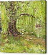 Willow Swing Acrylic Print