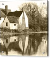 Willy Lots Cottage Acrylic Print