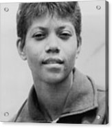 Wilma Rudolph, 1940-1994, Was The First Acrylic Print