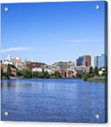 Wilmington Skyline Acrylic Print