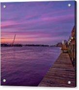 Wilmington Waterfront Acrylic Print