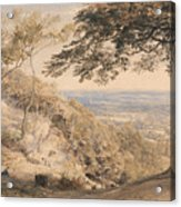 Wilmot's Hill, Kent Acrylic Print