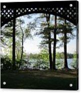Wilson Pond Framed Acrylic Print