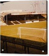 Wimbledon Fc - Plough Lane - Main Stand 1 - 1969 Acrylic Print