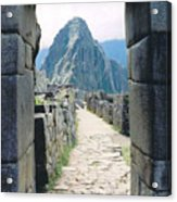 Winay Picchu Acrylic Print