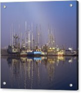 Winchester Bay Fishing Boats Acrylic Print
