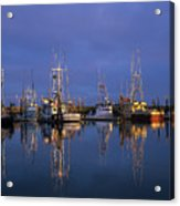 Winchester Bay Reflections Acrylic Print