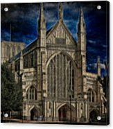 Winchester Cathedral Acrylic Print