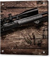 Winchester M70 Acrylic Print